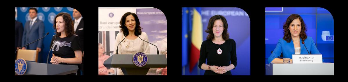 Roxana Minzatu ministruy fonduri europene